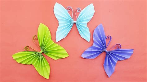 Paper Butterfly Origami - easy paper butterfly origami diy paper crafts how to