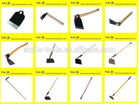 different types of hoes for gardening ploskorez gardening hoe stainless steel blade handle