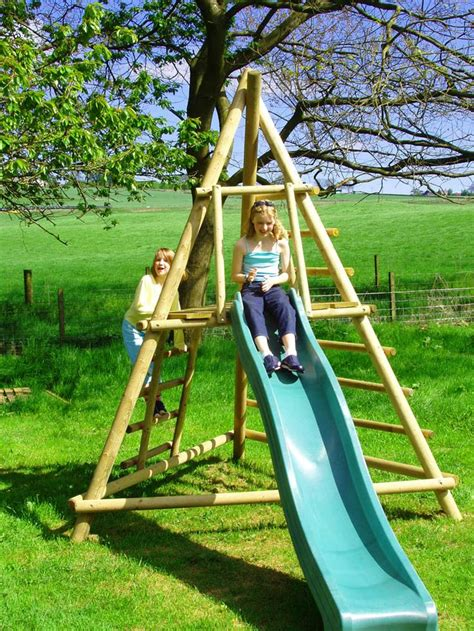 backyard playground slides 25 unique climbing frames ideas on pinterest garden