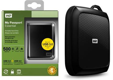Wd Hardcase Hdd 3 0 by Friday Wd My Passport Essential 500gb Usb 3 0