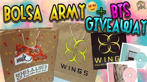 Kpop Giveaway - diy kpop bolsa decorada bts giveaway my crafts and diy projects