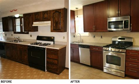 Kitchen Facelift Ideas by Small Kitchen Remodel Before And After On Pinterest