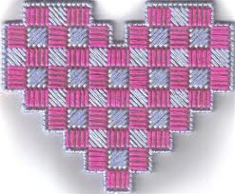heart pattern for plastic canvas free plastic canvas patterns online hubpages