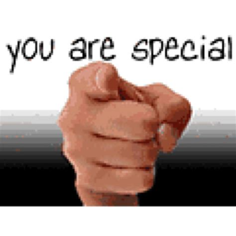 You Are you are special itycharles