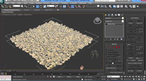 VrayPattern Tutorial #1 Making gravel with MultiScatter   YouTube