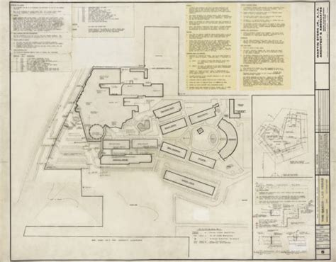 hotel layout drawing unlv libraries digital collections architectural drawing