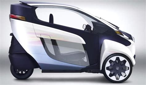 toyota i road the electric car scooter hybrid