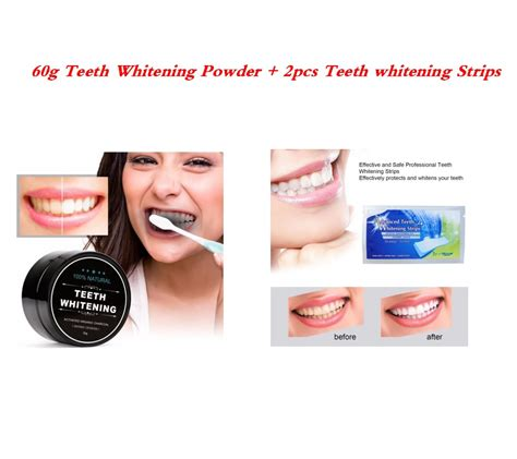 black activated carbon charcoal teeth whitening powder