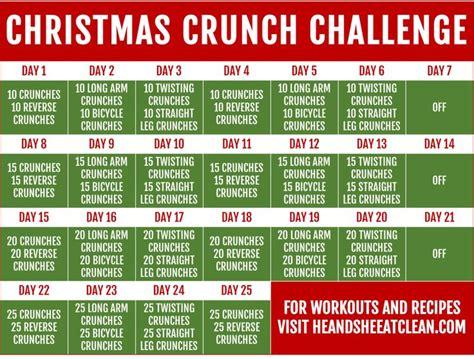 25 day ab challenge best 25 crunch challenge ideas on 30 day