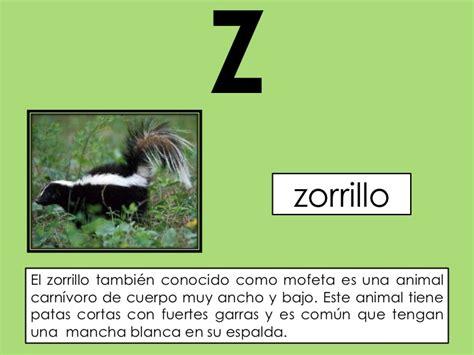 imagenes de animales con z el abc de los animales 1