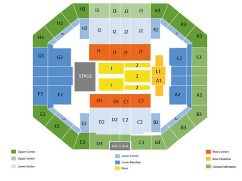 stephen o connell center seating chart stephen oconnell center seating chart and tickets