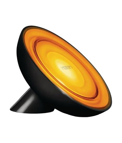 Lu Led Emergency Philips philips led living color bloom emergency light black buy