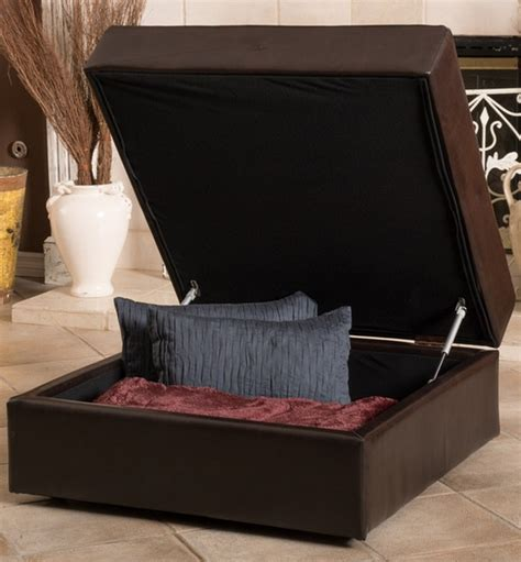 cute ottomans 6 dark contemporary ottomans for your living room cute