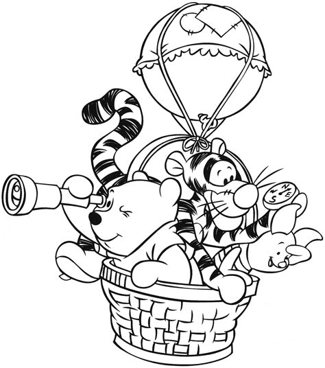 winnie  pooh coloring page minister coloring