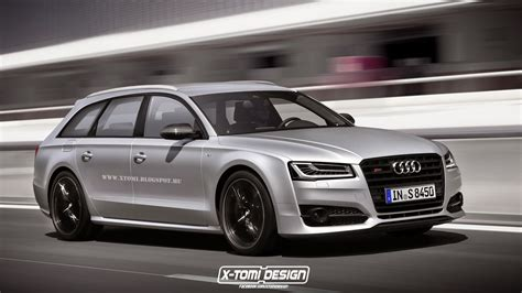 audi s wagon audi s8 avant plus rendered the ultra powerful wagon that