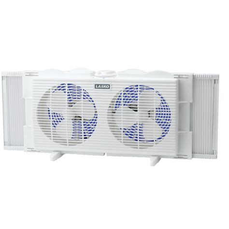 dual window fan lasko 2137 7 quot twin window fan 2 speed