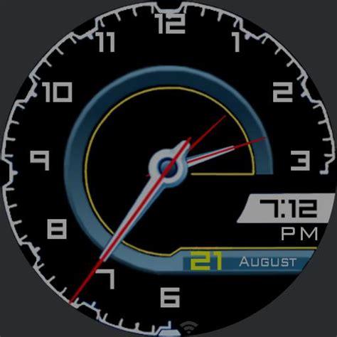 lamborghini aventador speedometer lamborghini aventador speedometer v02 watchfaces for