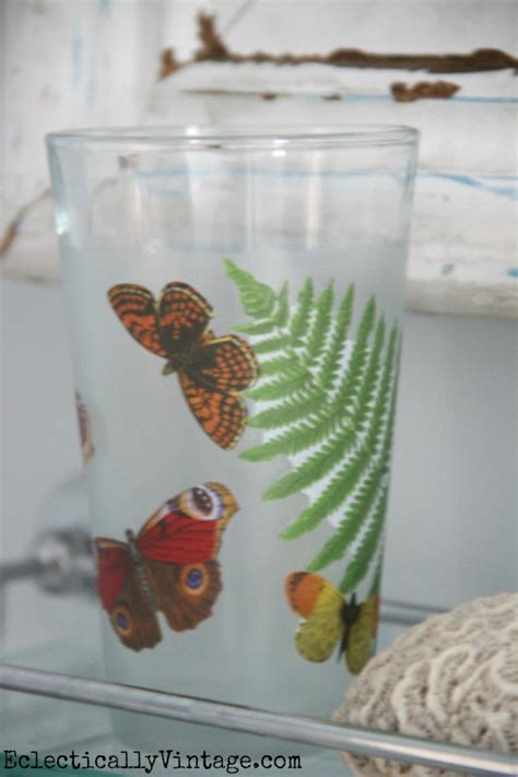 Glass Decoupage - decoupage how to make a waterproof glass