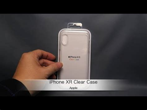 apple iphone xr clear 紹介