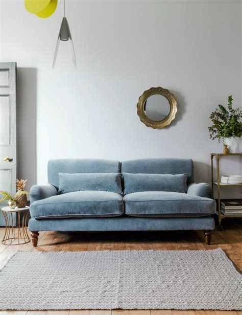 three and two seater sofas grey velvet three seater sofa