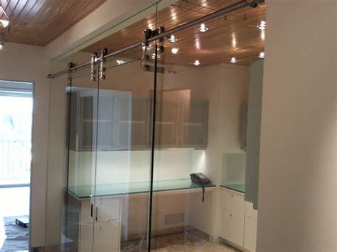 Interior Glass Barn Doors by Interior Glass Walls Barn Door Style