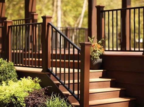 outdoor step railing ideas pinteres