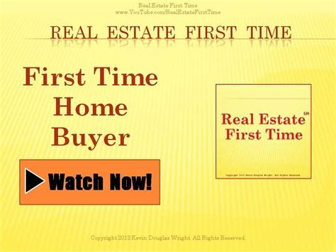 how to purchase a home time home buyers part 1