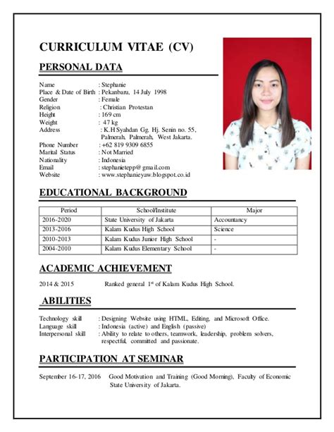 cara membuat cv online bahasa indonesia pay for exclusive essay cara menulis resume