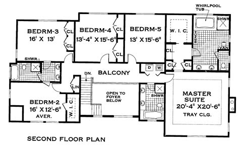 blueprint for houses the pines 3304 5 bedrooms and 3 baths the house designers