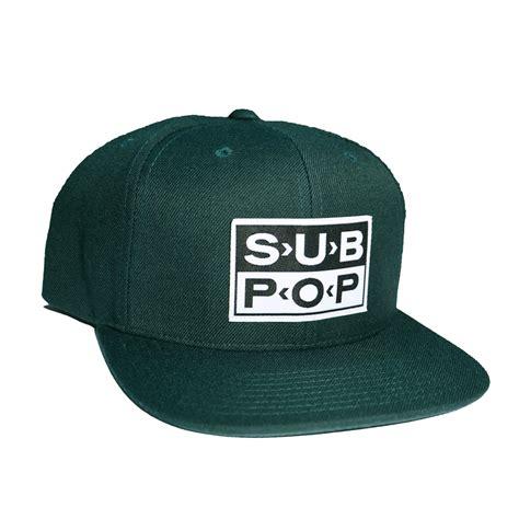 Logo Pop Green sub pop green logo snapback hat sub pop mega mart