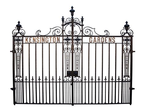 french country reclaimed wood folding wrought iron side superb set of 19th century wrought iron driveway gates