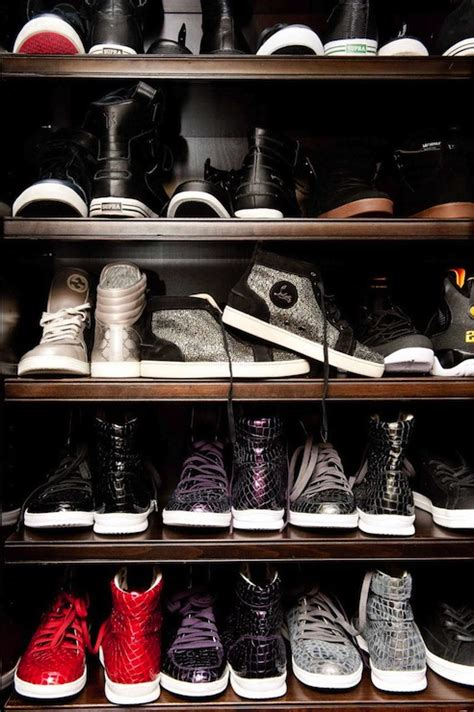 mens shoe closet contemporary closet the coveteur