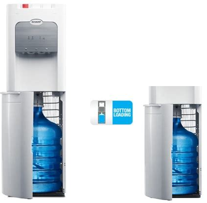 Dispenser Air Sharp jual sharp stand water dispenser swd 72ehl wh murah