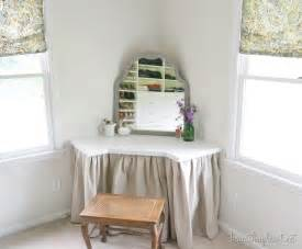 Corner Vanity Table Bedroom Diy Dressing Table Beneath My Heart