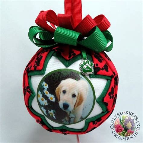 personalized pet photo ornament creating pet memories