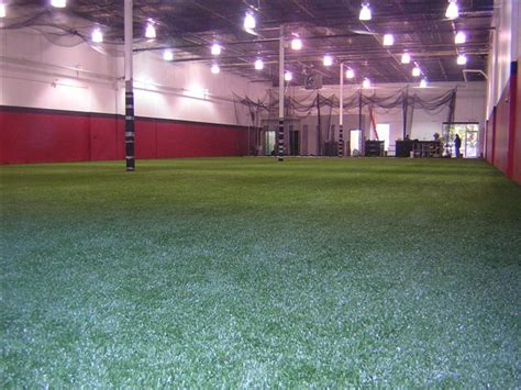 easyturf indoor batting cage and high performance