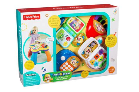 fisher price laugh and learn puppy table learning table play toys kids activity laugh learn