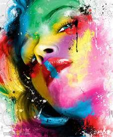 colorful portraits 30 mind blowing and colorful paintings by