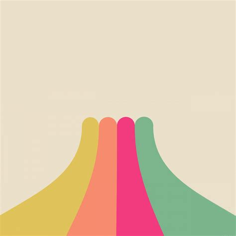 love papers vg rainbow simple minimal abstract pattern
