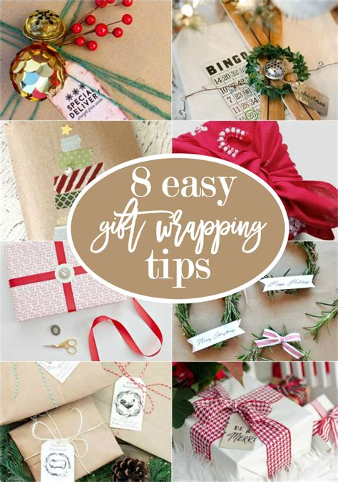 gift wrap tips 8 easy gift wrapping tips