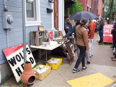 Garage Sale Finder Pittsburgh Mexican War Streets Neighborhood Yard Sale