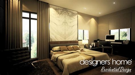 bungalow interior design master bedroom a malaysia