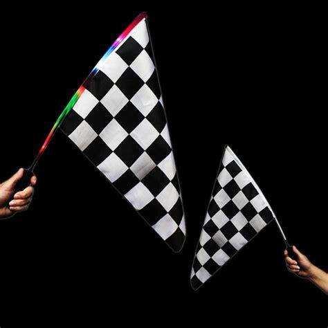 Checkered Flag L led checkered flag