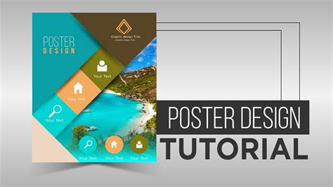 graphic design tutorial youtube poster design tutorial by using illustrator youtube
