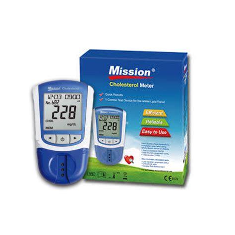 Cholesterol Meter Mission Cholesterol Meter Spirit 174 Healthcare Ltd