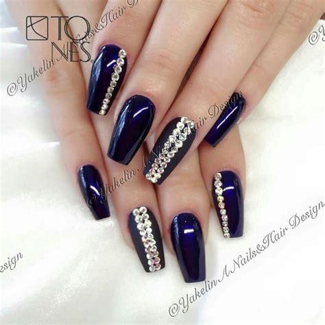 imagenes de uñas de acrilico azul marino m 225 s de 25 excelentes ideas populares sobre u 241 as azul
