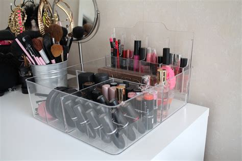 ikea makeup organizer new makeup organizer storage nicole s beauty blog