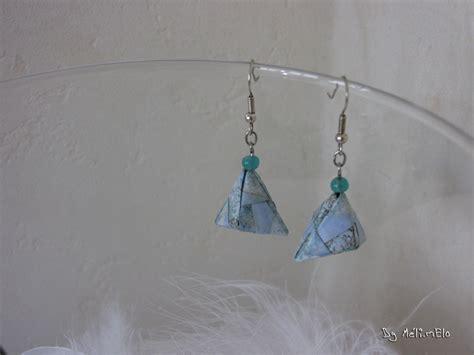 Origami Bo - bo diamant en origami tuto inside
