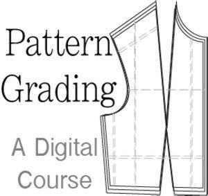 Pattern Grading Online Course | patterns on pinterest