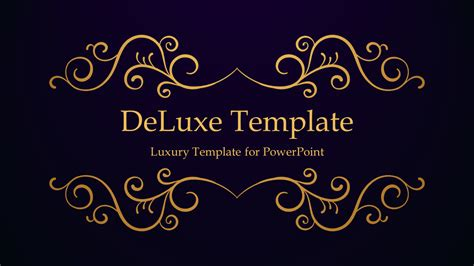 Best Google Resume Templates by Deluxe Luxury Powerpoint Template